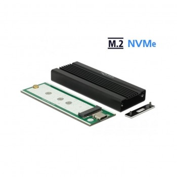 EXTERN USB 3.1 Gehäuse für M.2 NVMe PCIe SSD mit SuperSpeed