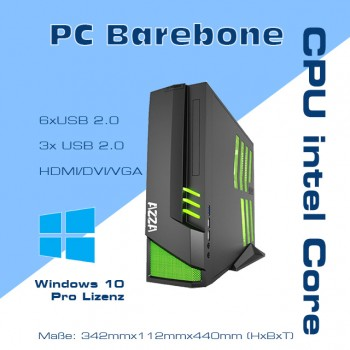 Barebone Computer Intel i3 CPU Top-Grundlage Home & Office