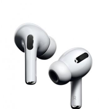 Kopfhörer Wireless mit Ladeschale Weiß AirBass für Apple