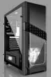 Gehäuse ATX MidiTower Gaming Case Titan 240X , USB 3.0,ohne Netzteil