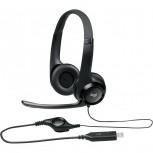 Headset Logitech USB Headset H390 black retail