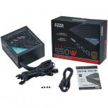 Netzteil ATX 550W 12cm fan,80+Bronze,black 2x PCIe