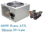 Netzteil ATX 600W Silenzio 12cm FAN / Retail