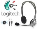 Headset 3,5mm Logit H110 black